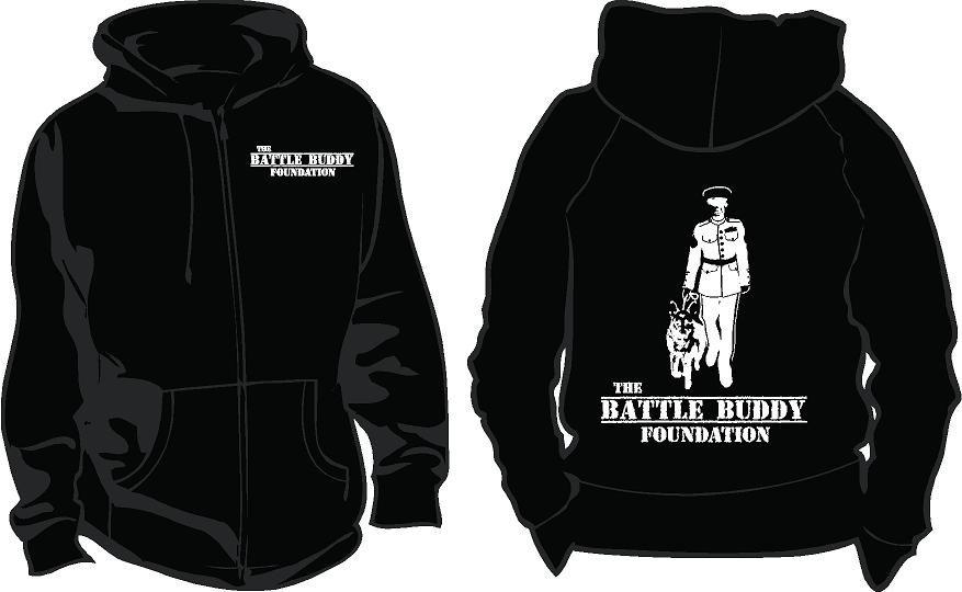 The Battle Buddy Foundation: Hoodies Image